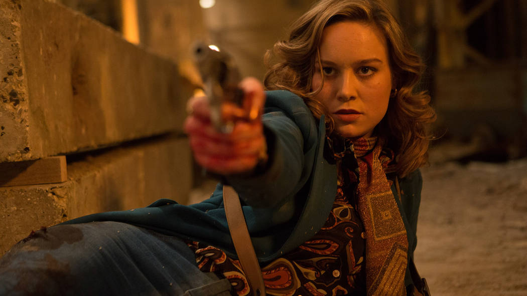 "Brie Larson stars in ""Free Fire."" Kerry Brown, A24"