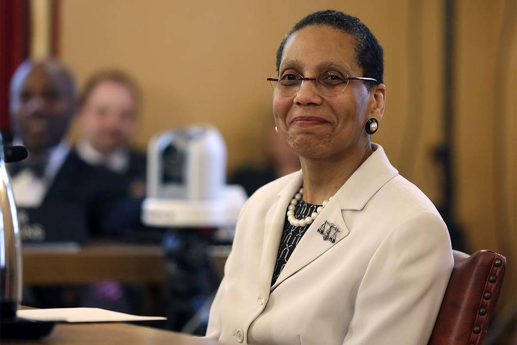 Justice Sheila Abdus-Salaam in an April 30, 2013 file photo. (Mike Groll/AP)