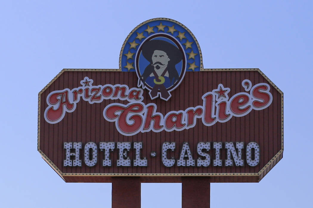 A man robbed the casino cage at Arizona Charlie's, 4575 Boulder Highway, Wednesday night, April 12. (Brett Le Blanc/Las Vegas Review-Journal) @bleblancphoto