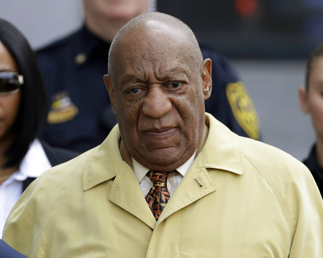 Bill Cosby departs after a pretrial hearing in his sexual assault case at the Montgomery County Courthouse in Norristown, Pa. on Feb. 27, 2017. (Matt Slocum/AP)