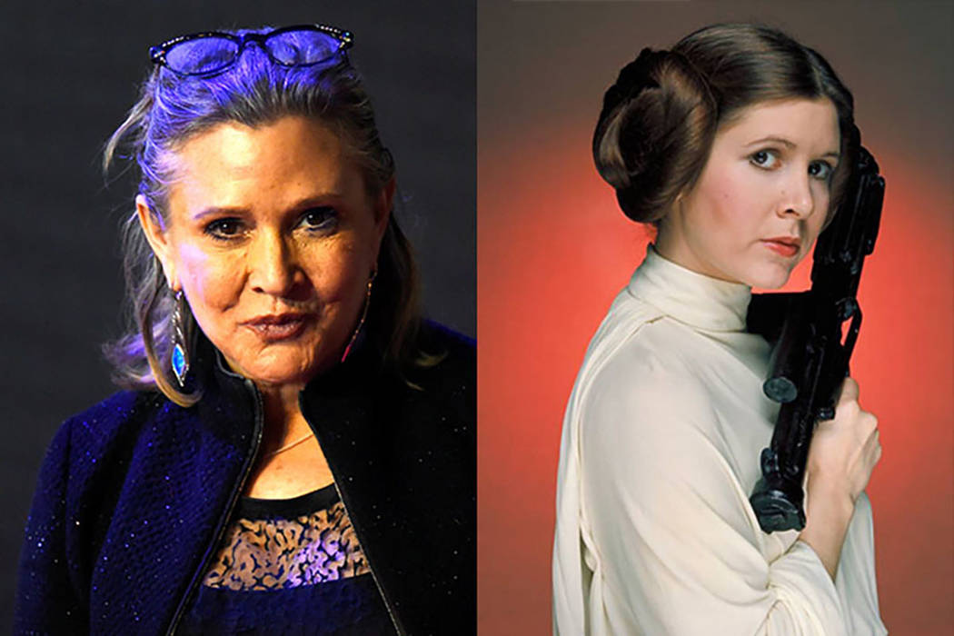 "Carrie Fisher was rememebred by George Lucas at the ""Star Wars Celebration"" in Orlando on Thursday, April 13th. (Star Wars/Facebook)"