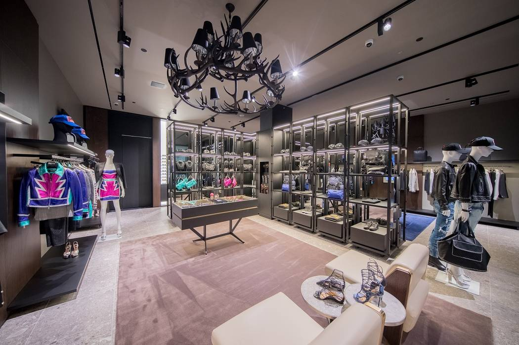 The 2,200-square-foot Las Vegas store is Dsquared2's fourth location in the United States. (DSquared2)