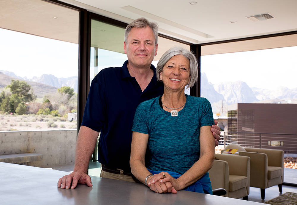 Scott and Laurie Lee moved to Blue Diamond in 2013 after selling their acre-lot home in Texas. (Tonya Harvey Real Estate Millions)