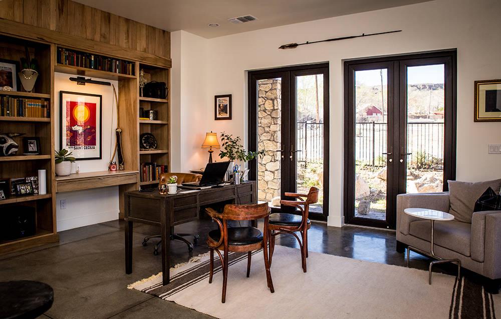 The home's office. (Tonya Harvey)