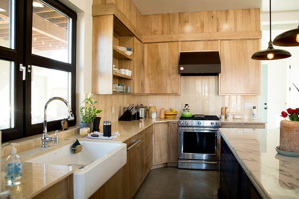 The kitchen. (Tonya Harvey)