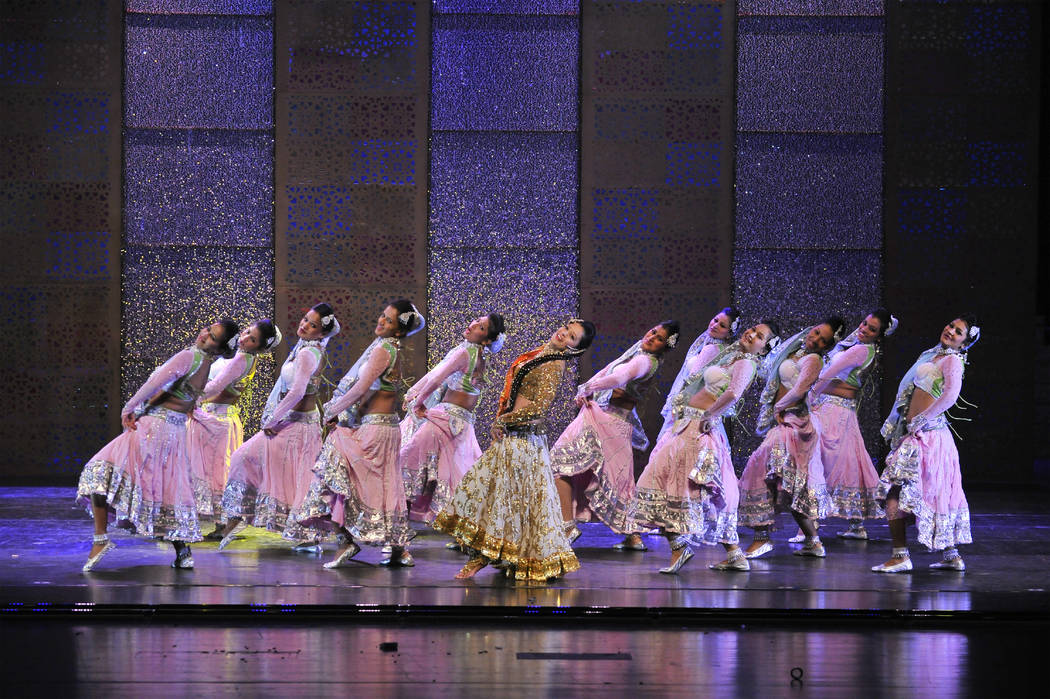 """Elaborate musical numbers characterize Hindi cinema — and the live show """"Taj Express: The Bollywood Musical Revue."""" The Smith Center for the Performing Arts"""