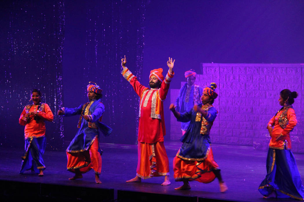 """Columbia Artists Management  Concluding its U.S. tour at The Smith Center's Reynolds Hall on Monday, """"Taj Express: The Bollywood Musical Revue"""" combines multiple styles of Indian dance."""