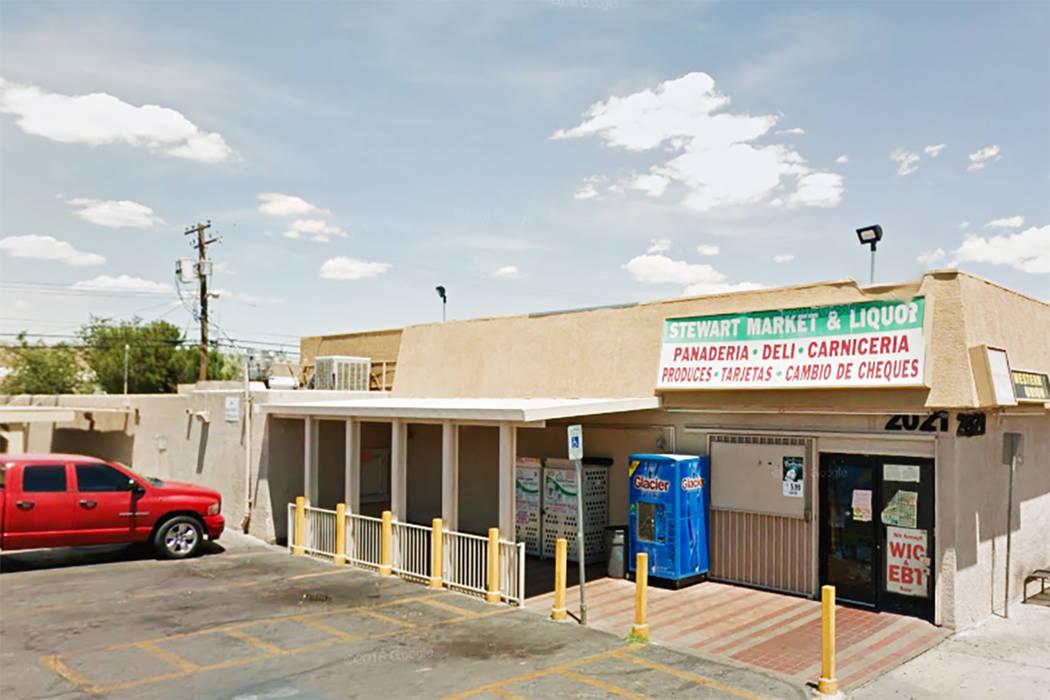 Stewart Market at 2021 Stewart Ave. in Las Vegas. (Google Street View)