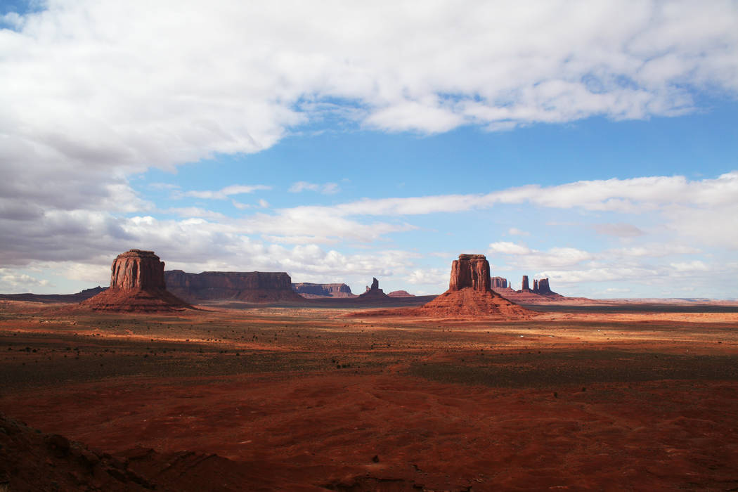 Some of the finest panoramic views in the world can be found at Monument Valley. (Deborah Wall)