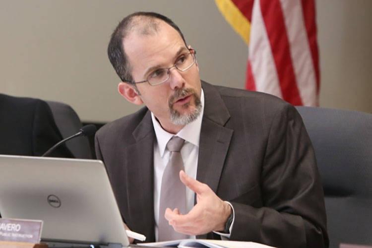 State superintendent Steve Canavero, seen in 2016 (Bizuayehu Tesfaye/Las Vegas Review-Journal Follow @bizutesfaye)