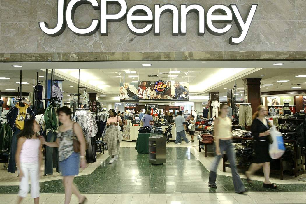 J.C. Penney Co. is delaying the closure of numerous stores nationwide, including the one at Boulevard Mall in Las Vegas. (Matt Slocum/AP)