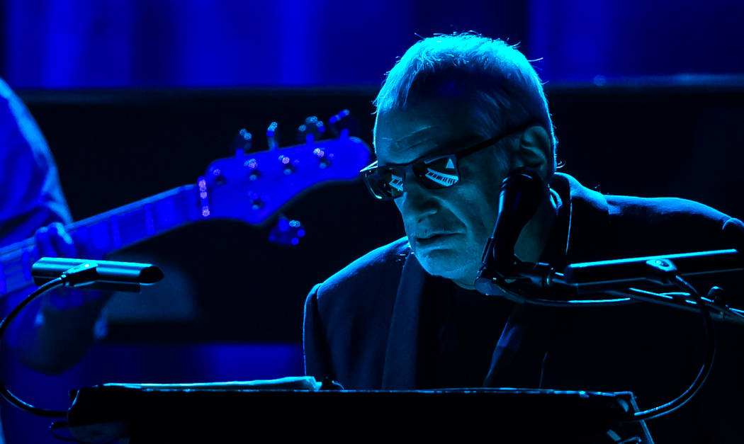 "Opening night of Steely Dan's ""Reelin' in the Chips"" at The Venetian on Wednesday, April 12, 2017, in Las Vegas. (Erik Kabik)"