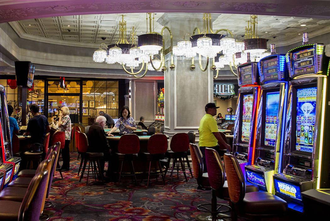 People play games in the newly remodeled California hotel-casino, Tuesday, Nov. 29, 2016, in downtown Las Vegas. Elizabeth Page Brumley/Las Vegas Review-Journal Follow @EliPagePhoto