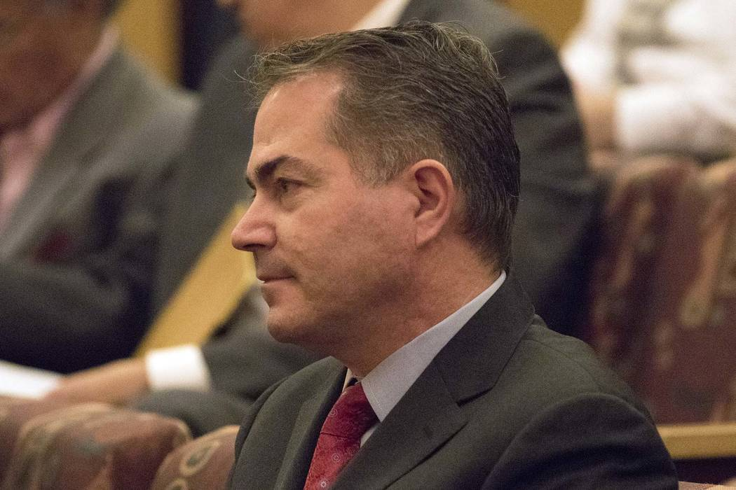 UNLV President Len Jessup has asked Nevada lawmakers for $4 million to plan a new building for the school's engineering program. (Heidi Fang/Las Vegas Review-Journal) @HeidiFang