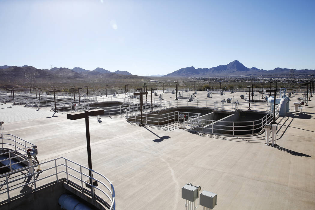 The River Mountains Water Treatment Facility on Wednesday, January 25, 2017, in Henderson. Rachel Aston Las Vegas Review-Journal @rookie__rae