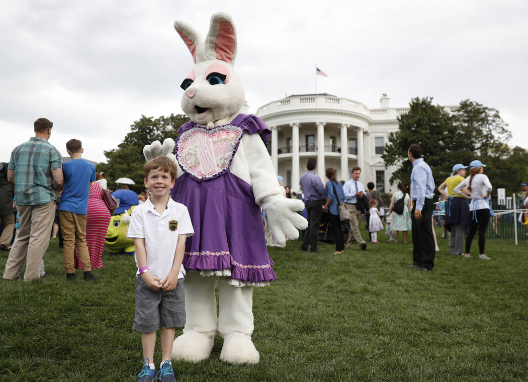 Over 21000 expected at Trump's first Easter Egg Roll