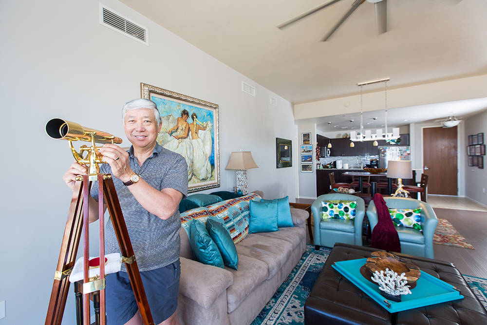 Military veterans Donald and Cherie Takami purchased their second home at One Las Vegas, which they utilize as a vacation home for nearly four months out of the year. The Takamis love their two-be ...