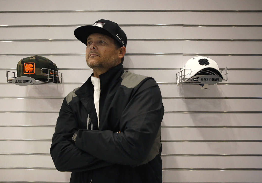 Brett Wayment is opening a Black Clover Apparel store inside the MGM Grand Hotel & Casino located on The Strip on Wednesday, April 19, 2017, in Las Vegas.  This will be the first brick-and-mor ...