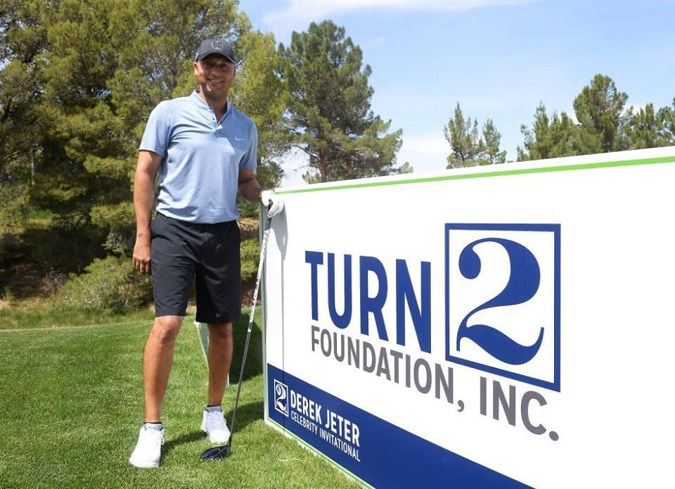 Derek Jeter is once again hosting his celebrity invitational in Las Vegas at ARIA and Shadow Creek