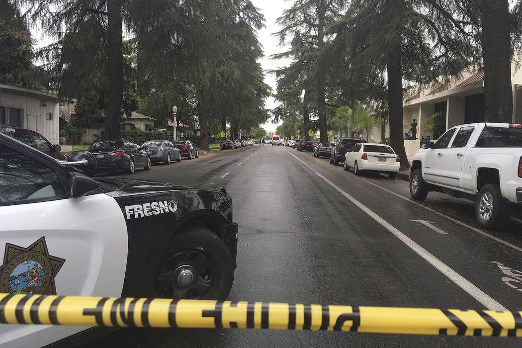 Three killed in Fresno, California, shooting spree, suspect arrested