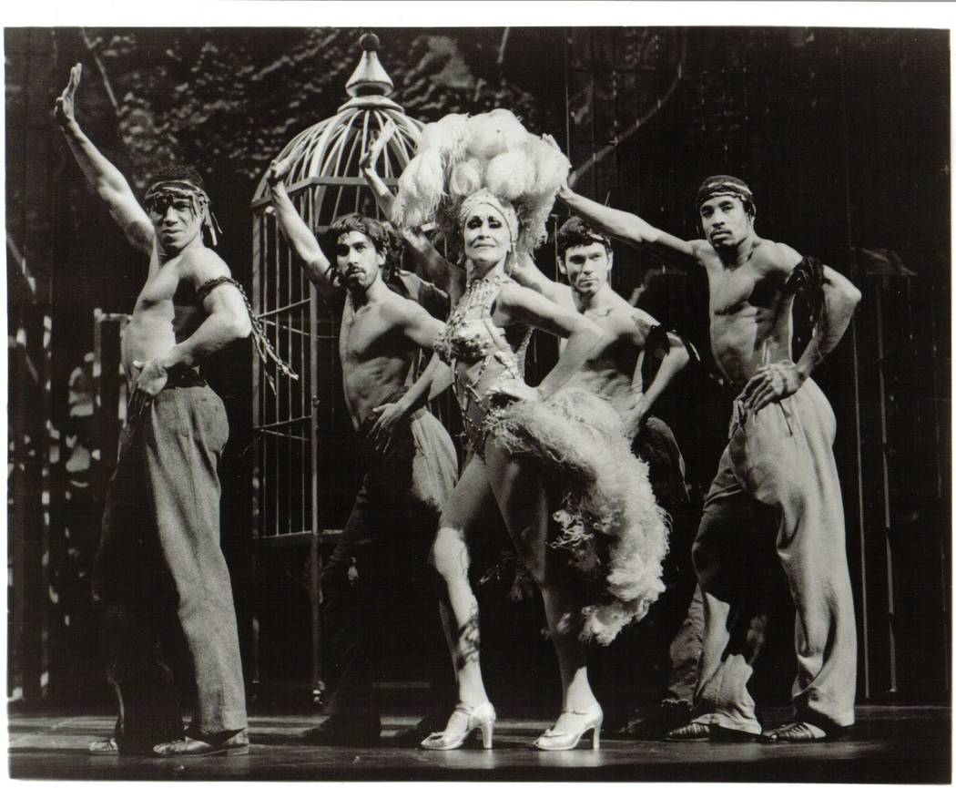 """Chita Rivera in her Tony-winning role in 1992's """"Kiss of the Spider Woman,"""" her second collaboration with """"Chicago"""" songwriters Kander and Ebb. Catherine Ashmore The Smith Center for the ..."""