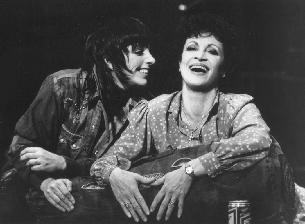 """Liza Minnelli and Chita Rivera played daughter and mother in 1984's """"The Rink,"""" for which Rivera won her first of two Tony Awards. Ken Howard/The Smith Center for the Performing Arts"""