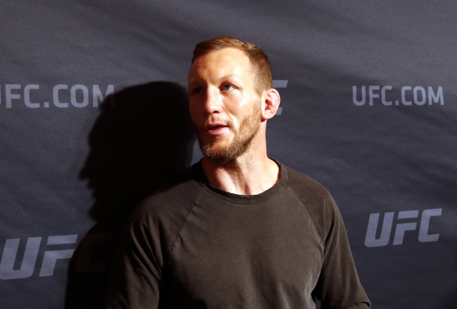 UFC featherweight and Las Vegas-based fighter Gray Maynard will fight featherweight Teruto Ishihara on July 7 at T-Mobile Arena. (Heidi Fang/Las Vegas Review-Journal) @HeidiFang
