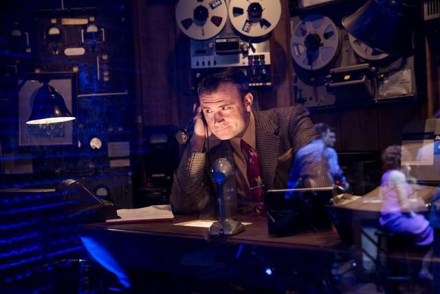 "Marc D. Donovan as Sam Phillips in ""Million Dollar Quartet."" (Erik Kabik Photography)"