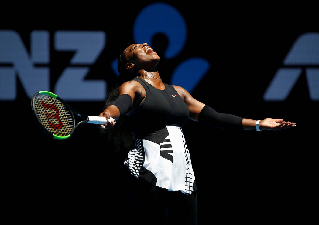Serena Williams won the 2017 women's singles title against Britain's Johanna Konta in the Australian Open in Melbourne. Issei Kato Reuters File