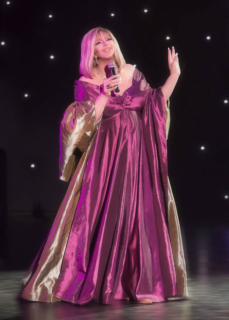 "Bryan Watkins as Barbra Streisand is a recent addition to the relaunched ""Divas Las Vegas."" (Divas Las Vegas)"
