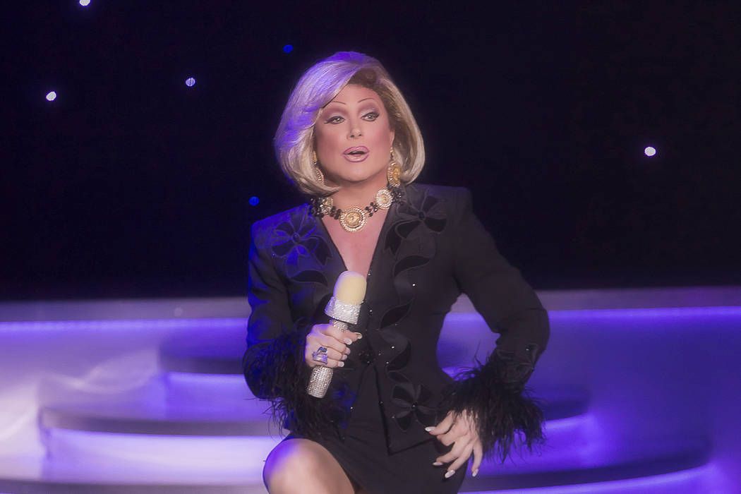 Frank Marino is the Strip's longest-running continuing headliner, performing as a drag Joan Rivers since late 1985. (Divas Las Vegas)