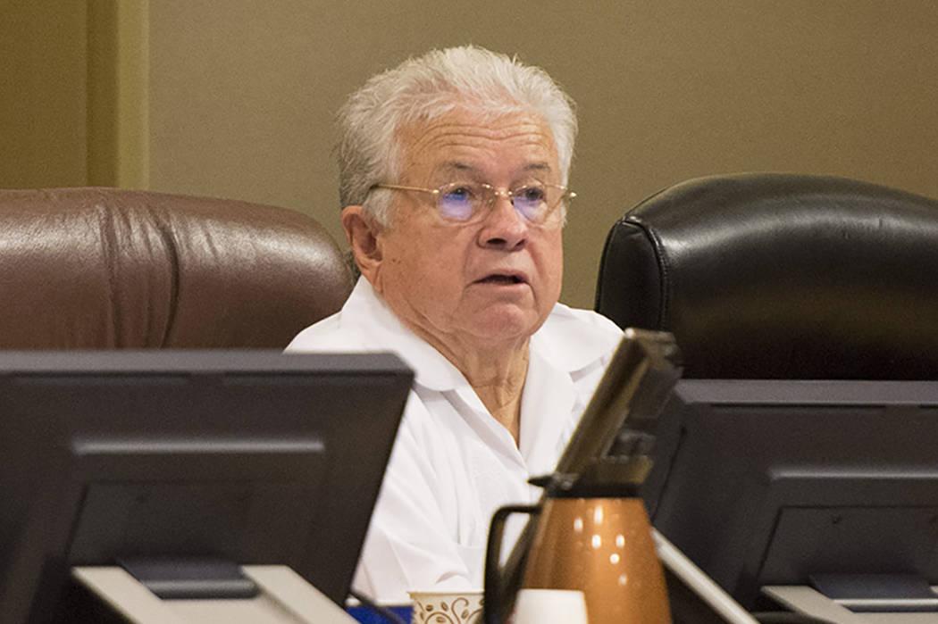 Las Vegas Councilman Bob Coffin (Las Vegas Review-Journal)