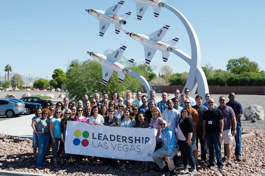 Members of Leadership of Las Vegas. (Leadership Foundation of Greater Las Vegas)
