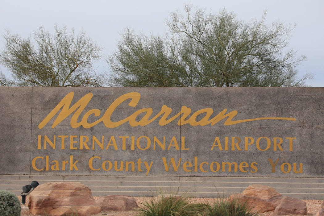 McCarran International Airport in Las Vegas on Saturday, Feb. 25, 2017. Brett Le Blanc/Las Vegas Review-Journal Follow @bleblancphoto