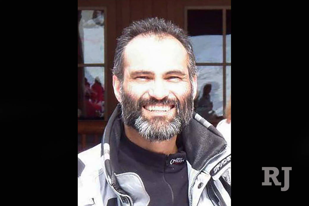 Las Vegas plastic surgeon Kayvan Khiabani died Tuesday after the bicycle he was riding was hit by a tour bus. (Facebook)