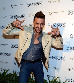 Rock of Ages opened at The Venetian and drew a red carpet of  Jai Rodriguez from the TV show Malibu Country, among others.