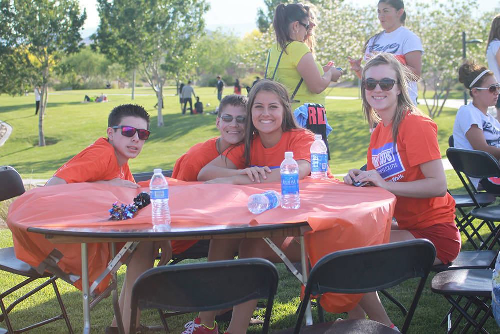 Bring your friends for a morning of outdoor fun while helping those with digestive diseases at the Take Steps Walk at Exploration Park in Mountain's Edge.