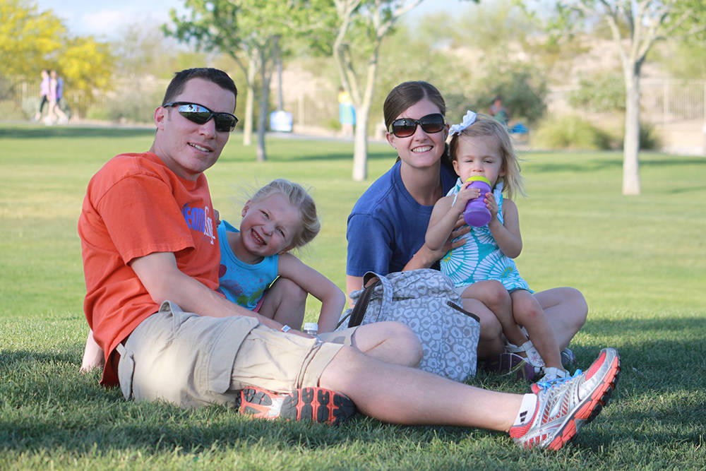 Enjoy family and park activities this morning at the Take Steps Walk at Exploration Park in Mountain's Edge.