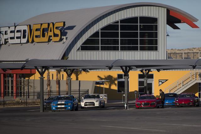 SpeedVegas re-opened Feb. 22 after a fiery crash killed two people Feb. 12, 2017, in Las Vegas. (Erik Verduzco/Las Vegas Review-Journal) @Erik_Verduzco