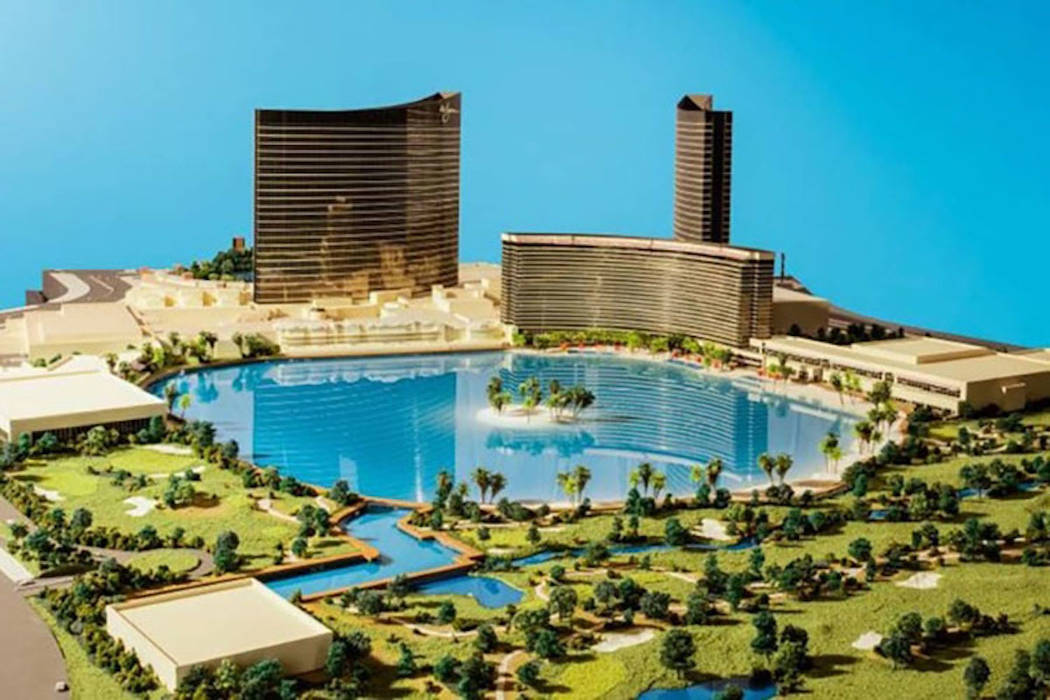 Rendering of proposed Wynn Resorts Paradise Park on the Las Vegas Strip. (JP Morgan/Wynn Resorts)