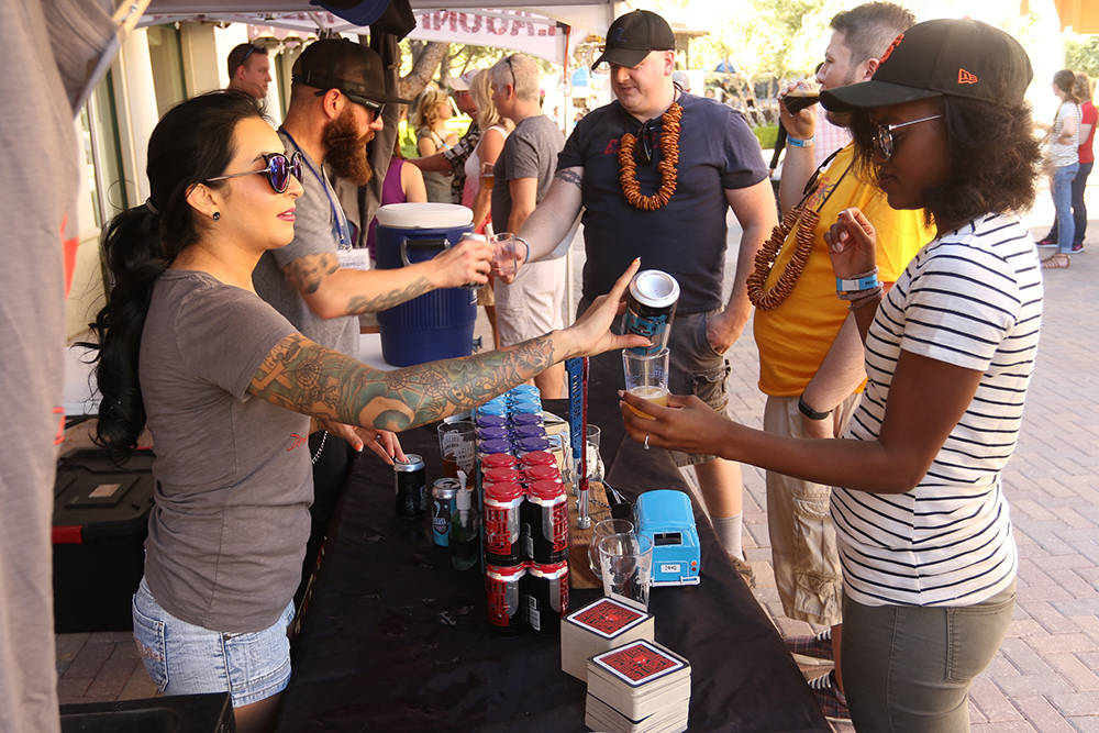 Enjoy more than 100 craft beers, jazz bands, specialty vendors and more at today's MonteLago Village Beerfest hosted by Auld Dubliner Irish Pub at Lake Las Vegas. Tasting stations and other acti ...