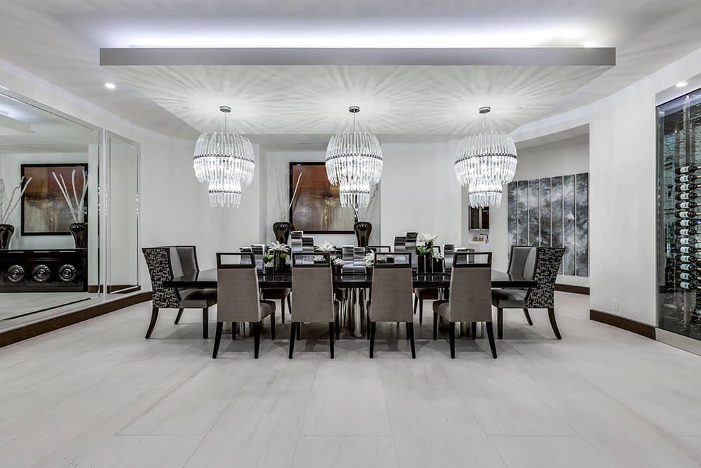 The formal dining room. (Growth Luxury Homes)