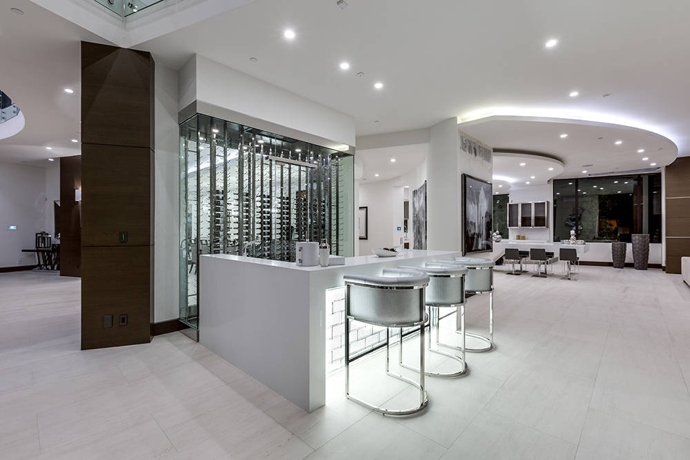 The bar. (Growth Luxury Homes)