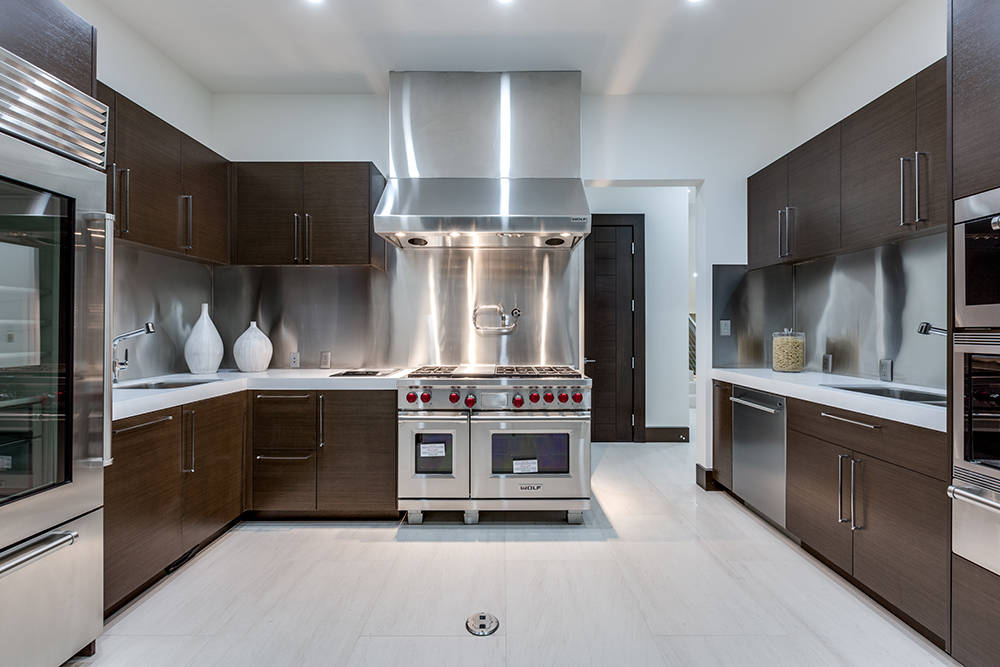 The kitchen. (Growth Luxury Homes)