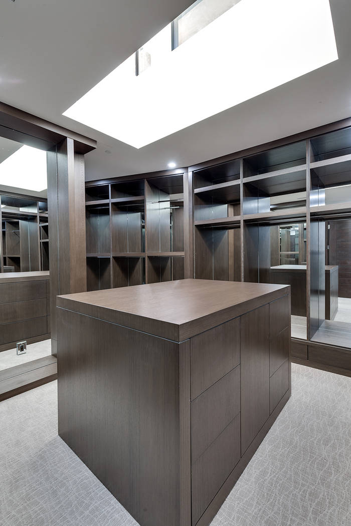 The closet. (Growth Luxury Homes)