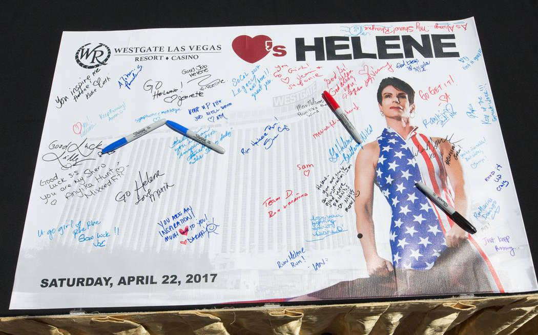 Helene Neville at Westgate on Saturday, April 22, 2017, in Las Vegas. (Erik Kabik)