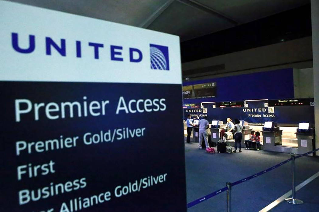 The United Airlines terminal at Newark International Airport in New Jersey (REUTERS/Eduardo Munoz)
