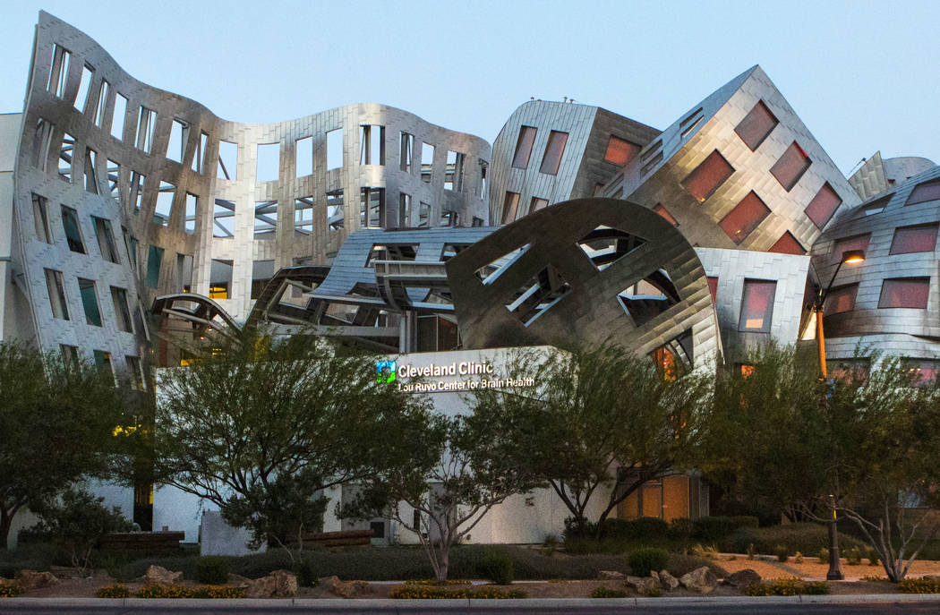 The Lou Ruvo Center for Brain Health in downtown Las Vegas on Thursday, April 27, 2017. Miranda Alam Las Vegas Review-Journal @miranda_alam