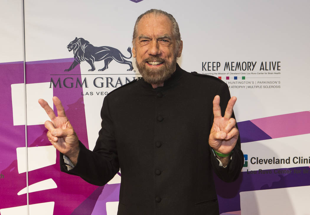 Philanthropist and businessman John Paul DeJoria on the red carpet before Keep Memory Alive's 21st annual Power of Love gala, raising money for Cleveland Clinic Lou Ruvo Center for Brain Health's  ...
