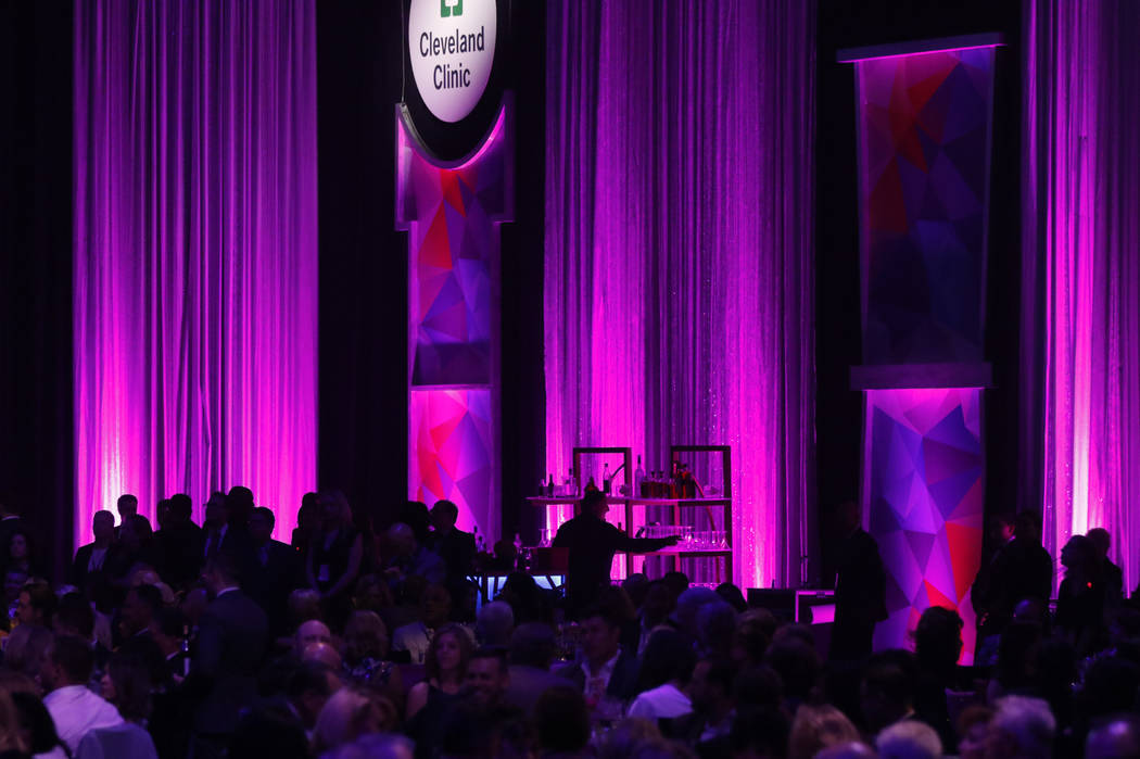 Attendees during Keep Memory Alive's 21st annual Power of Love gala, raising money for Cleveland Clinic Lou Ruvo Center for Brain Health's programs and services, at the MGM Grand Garden Arena in H ...